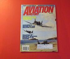 AVIATION HISTORY MAGAZINE MAY/1997..BRAWNY, BENT-WINGED BIRD: VOUGHT F4U CORSAIR