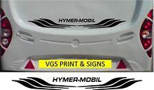 hymer-mobil Caravane / camping-car Grand 2 pièces - ensemble autocollants