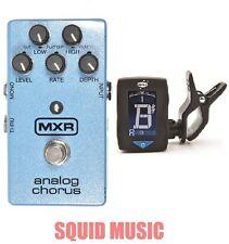 MXR Dunlop M-234 Analog Chorus Guitar Effects Pedal M234 ( FREE GUITAR TUNER )