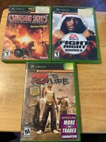 Xbox Game Lot See Description