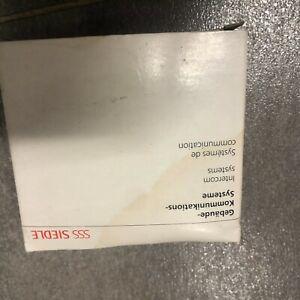 siedle TLM 521-01, Farbe silber-grau