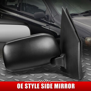 FOR 00-05 TOYOTA ECHO OE STYLE MANUAL ADJUSTMENT PASSENGER RIGHT SIDE MIRROR