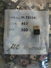 Micro Electr 10V/1A ML7810A Regulator 7810 TO-220,10pcs