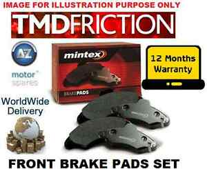FOR NISSAN X-TRAIL SUV 2007 >> 2.0i 2.0DCi 2.5 NEW FRONT BRAKE DISC PADS SET