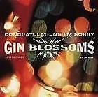 Gin Blossoms - Congratulations I'm Sorry CD