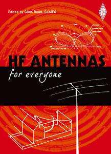 HF Antennas for Everyone - Amateur / Ham radio Aerials Book