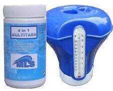 Sparpaket Kombitabletten 1 kg Multitab 4 in 1 + Dosierschwimmer mit Thermometer