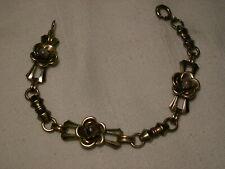 Vintage/Antique Harry Iskin 12K Gold Filled,Brown Dragon's Breath  Bracelet...