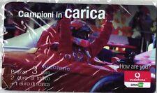 1739 SCHEDA RICARICA NUOVA IN BLISTER VODAFONE CAMPIONI IN CARICA FAC-SIMILE