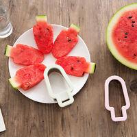 Watermelon Slicer Stainless Ice Cream Model Melon Cutter Kids Kitchen Tool