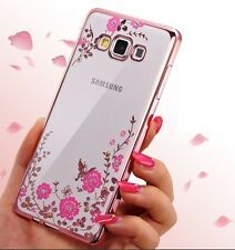 For Samsung S9 S8 J3 J5 J7 Note 8 Bling Glitter Diamond Soft Silicone Case Cover