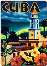 Cuba art fridge magnet.