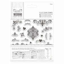 "FLOURISHES - 5x5"" Clear Stamp Set - Docrafts"