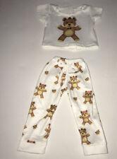 "18"" Doll Clothes-2 Piece Bear Pyjamas Set- DesignaFriend-Our Generation- AG"
