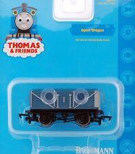 Bachmann HO Scale Train Thomas & Friends Rolling Stock Open Blue Wagon 77042