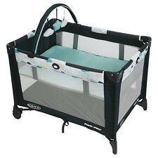 Graco Pack 'n Play On-the-Go Travel Baby Playard in Stratus