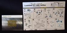 1/144 Metallic Details MD14409 Detailing set for aircraft model VC-140b JetStar