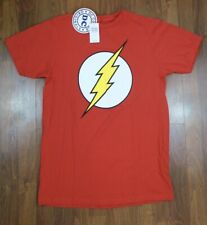 Classic Basic The Flash DC Comics T-Shirt New With Tags From Hot Topic