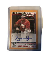 2020 Topps Big League Autographs Orange #BLA-AJ Andruw Jones NM-MT Auto ID:37881