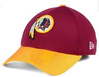 best sneakers 033db 42f7d Washington Redskins New Era Official NFL Sideline 39THIRTY Cap M L NWT