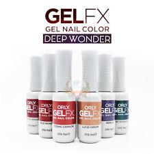 Orly GelFX NAIL POLISH- DEEP WONDER Holiday '18 COLLECTION 6PCS
