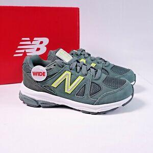 Size 11.5 WIDE Little Kid's New Balance 888 Sneakers KJ888RLP Dark Green