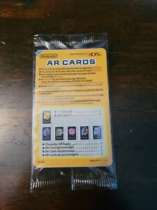 Nintendo 3DS AR Cards Sealed Brand New Unopened For Game