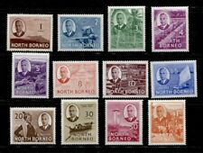 NORTH BORNEO ********************************* 1950 MINT SHORT SET