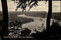 Hameln an der Weser Niedersachsen s/w AK ~1940 Blick vom Felsenkeller ungelaufen