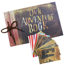 W2 Our Adventure Book Memory DIY Anniversary Scrapbook Photo Album 80 Pages