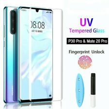 3D UV Curved Full Glue Liquid Tempered Glass Protector for Huawei Mate 30 Pro