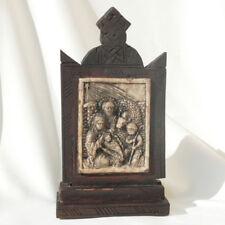 Ethiopie: Icône en bois et marbre, copte orthodoxe arte ethiopienne Religieuse
