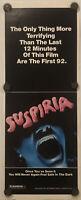 """SUSPIRIA Original 14"""" x 36"""" Insert Movie Poster - 1977 - ARGENTO - RARE!"""