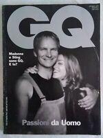 GQ 1 1999 passioni maschili madonna sting barale kidman roberts richards moana
