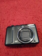 Canon PowerShot G9 12.1 MP Digital Camera 6x Zoom- Black #1