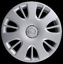 """Coppe ruota 4 pezzi SPARCO CORSA 15/"""" nero-argento con anello in acciaio"""