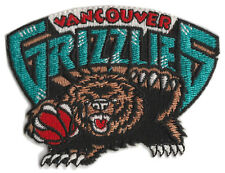 "1995-2001 VANCOUVER GRIZZLIES NBA BASKETBALL VINTAGE 3"" DEFUNCT TEAM LOGO PATCH"