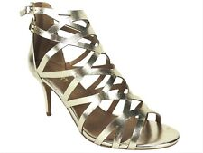 Report Women's Kareena Caged Dress Sandals Gold Size 8.5 M