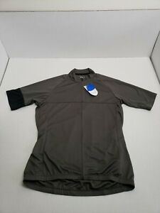 Giant Bicycles Short Sleeve Tour Jersey Gray M/L Unisex Adult NWT