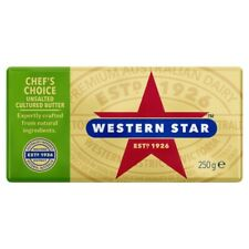 Western Star Chef's Choice Unsalted Cultured Butter Pat 250g