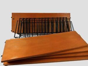 60er J. A. Decker Tomado Regal String Ära 4 Seitenteile und 6 Böden