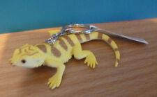 BEARDED DRAGON AUSTRALIAN ANIMAL SOUVENIR GIFT KEYCHAIN KEY RING Size 90mm