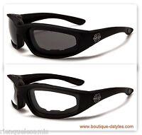 * LOTE 2 PARES * Gafas de sol Choppers Cruz de Malta Biker harley (1204+1204)