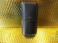 Cohiba Black & Gold Leather Cigar Case