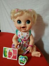 2012 Hasbro Baby Alive Real Surprises  Blonde Doll English  & Spanish