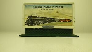 American Flyer #568 Whistling Billboard - Steam Loco on Billboard with control
