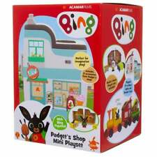 Bing - Mini House Playset Padget's Supermarket - Figure Trolley & Cash Register