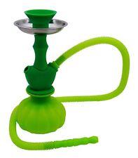 Narguilé Vert de silicone et de Portable vase d'eau vente chicha fumer