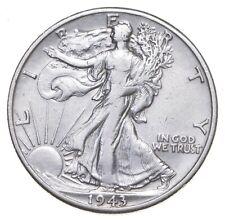 AU/Unc - 1943-D Walking Liberty Silver Half Dollar - Better *920