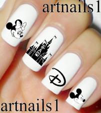 Disney Mickey Nail Art Water Slide Decals Stickers Manicure Salon Mani Polish !!